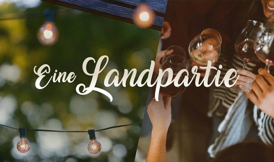 Eine Landpartie mit Wein und Musik