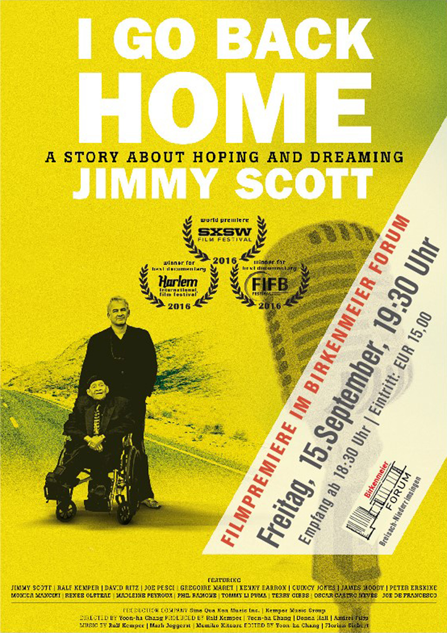 "Filmpremiere ""I Go Back Home"""